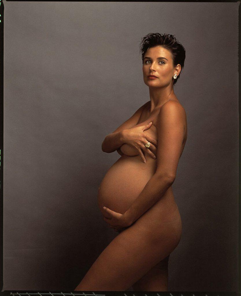 Demi Moore embarazada