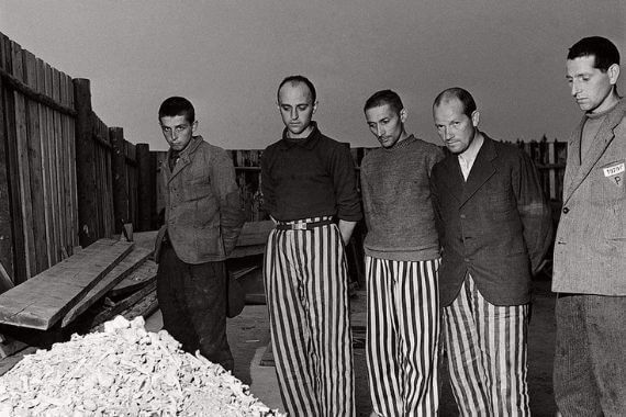 Fotografias en los campos de concentracion de Buchenwald y Dasau lee miller