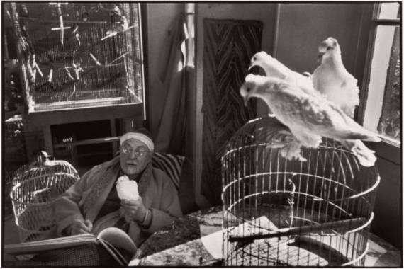 Henri Matisse at his home 1944 cartier bresson