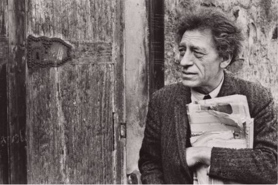 Portrait of Alberto Giacometti henri cartier bresson