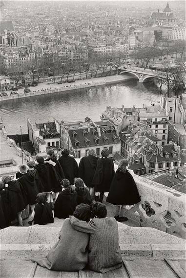 Tours de Notre Dame henri cartier bresson