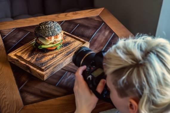 aprende a hacer fotos de platos