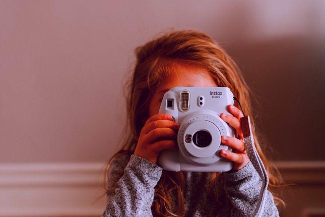 camara fotos niños