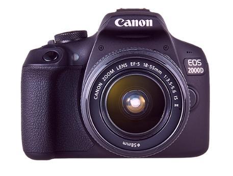 canon eos 2000d caracteristicas