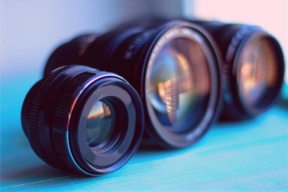 diferentes objetivos distancia focal