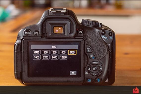 diferentes velocidades obturacion pantalla camara de fotografias