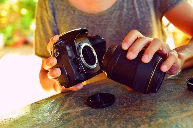 distancia focal y zoom camara