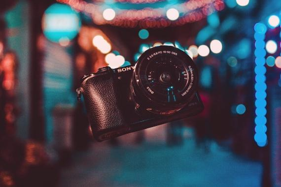 editor de fotoso fondo borroso