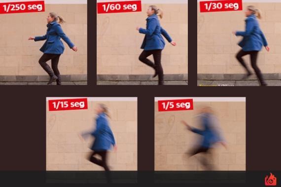 ejercicio para practicar la velocidad de obturacion en fotografia