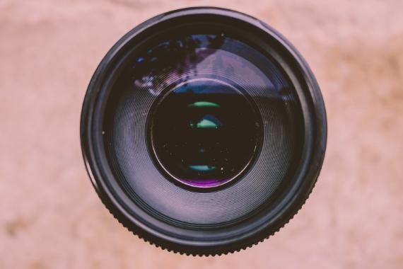 factor recorte camara distancia focal