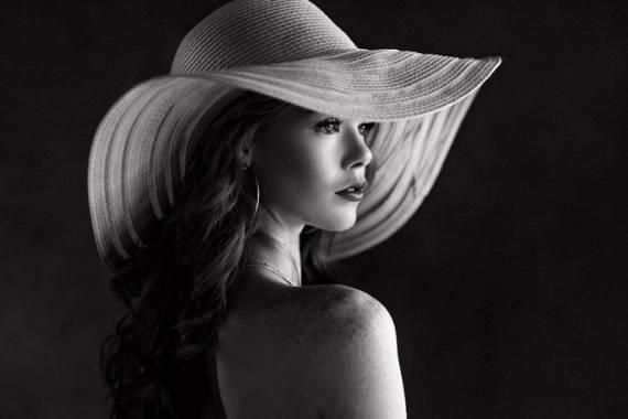 foto a blanco y negro