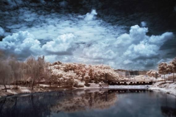 foto infrarroja digital