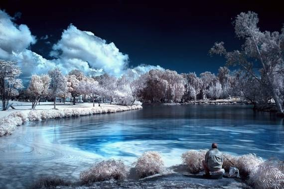 foto infrarroja