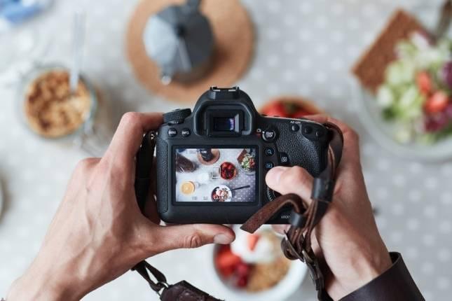 fotografia comida