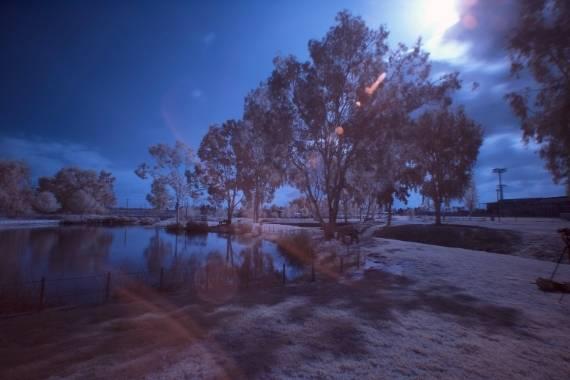 fotografia infrarroja nocturna