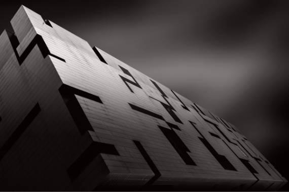 fotografiar arquitectura en blanco y negro