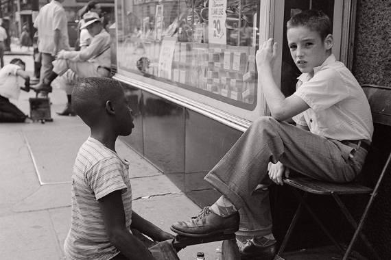 fotos blanco y negro vivian maier