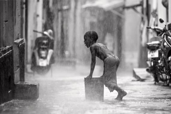 fotos en blanco y negro de personas