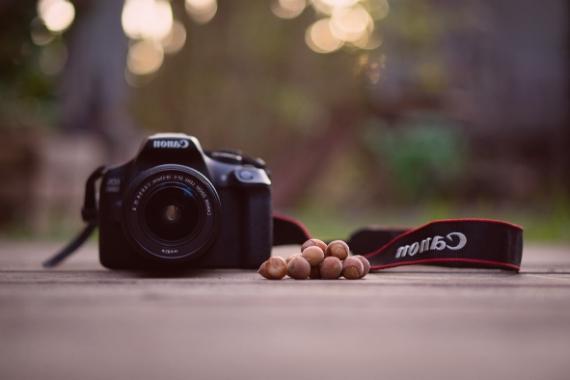 hacer fotos con fondo desenfocado
