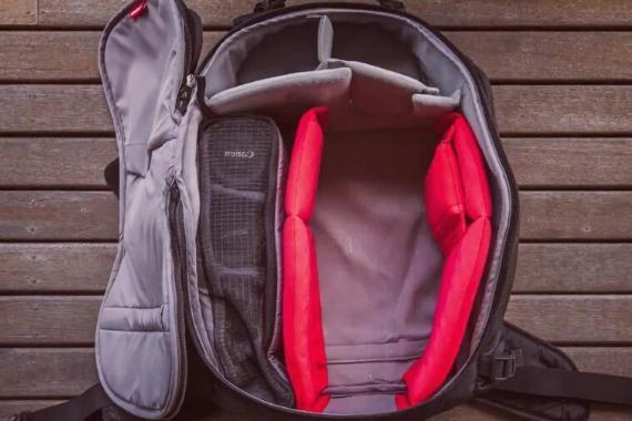 mochila fotográfica impermeable