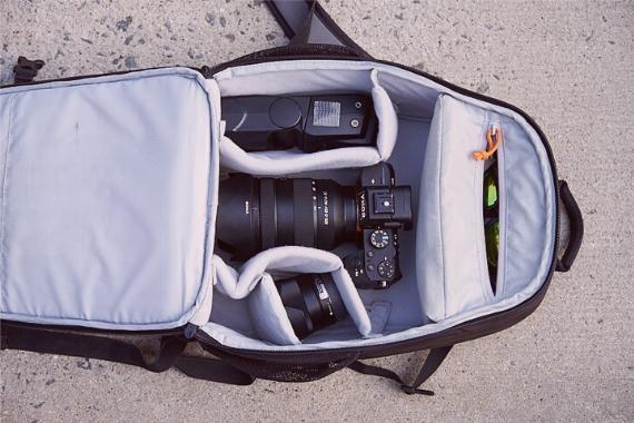mochila fotografica
