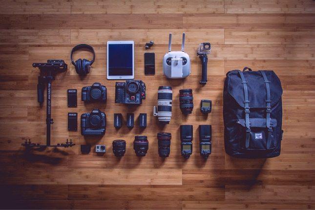 mochilas para fotografia