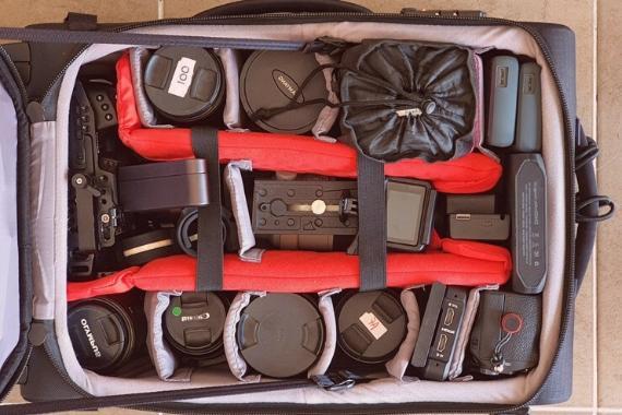 mochilas para fotografia montaña