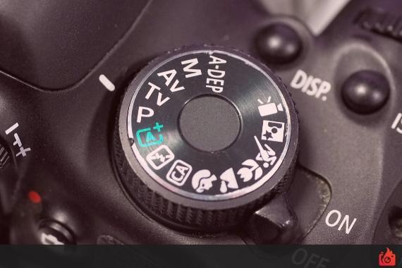 modos de una camara digital Nikon