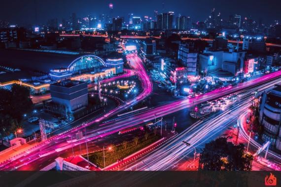 velocidad de obturacion y diafragma para fotografia nocturna