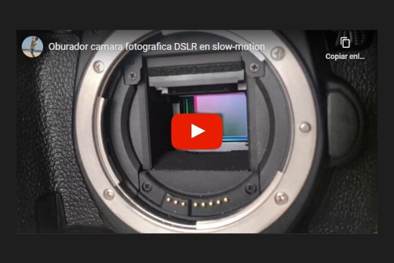 video velocidad obturacion